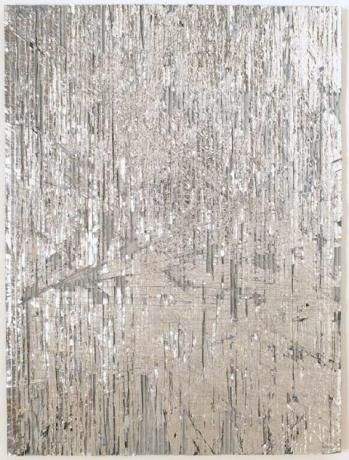 Luxury Dust by Cheryl Donegan (mixed media on cardboard)