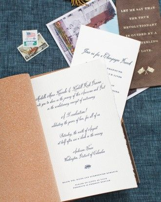 """Michelle Kosinski And Kimbell Rush Duncan's Wedding """"Lovebration"""" - The Stationery Suite"""
