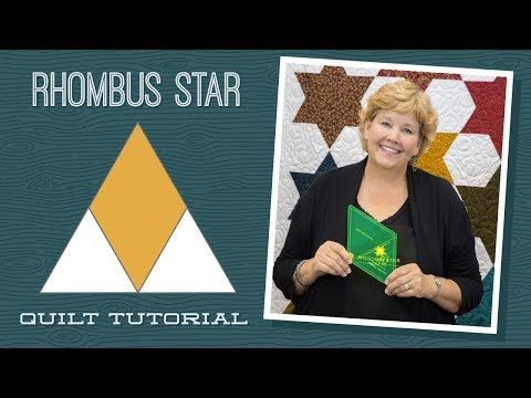 Make a Rhombus Star Quilt With Jenny! - YouTube