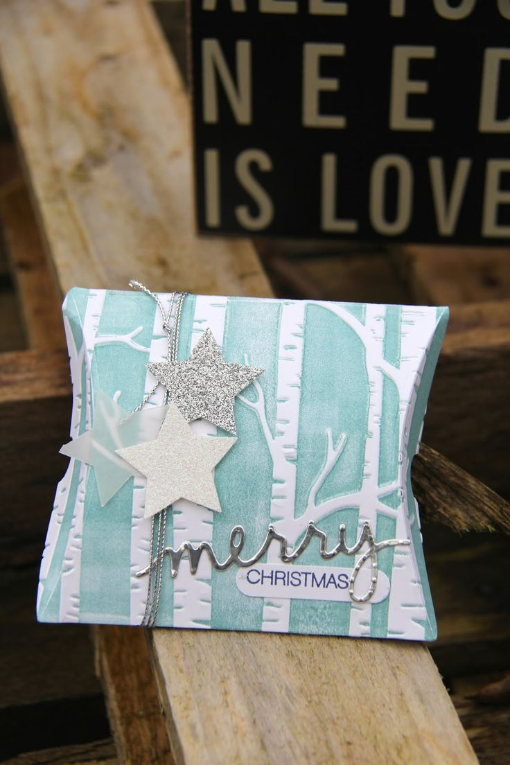 Stampin Up UK Demonstrator Zoe Tant blog: Christmas Packaging with Stampin' Up! Woodland Embossing Folder