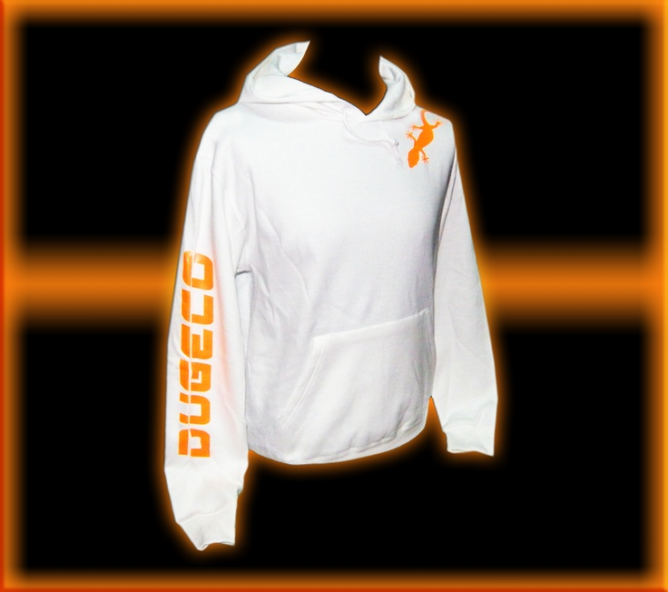 White Sweatshirt by DUGECO  Promotional price 25,00 €  ONLY UNTIL JANUARY 7, 2013