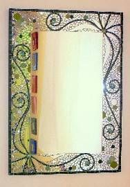 19 best images about espejos on pinterest beautiful for Espejos con marcos decorados