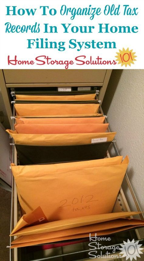17 Best Ideas About Home Filing System On Pinterest