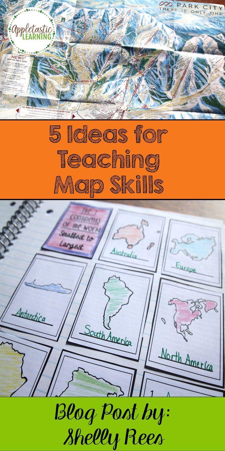 the 25  best map activities ideas on pinterest