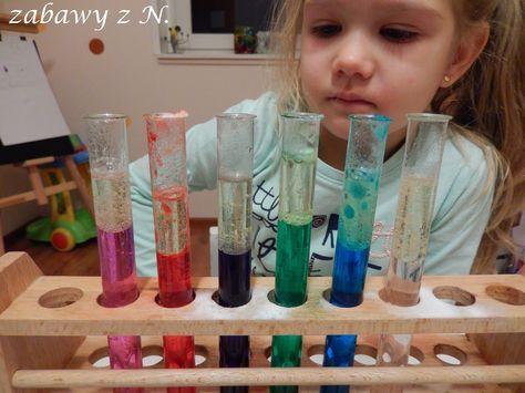 DOŚWIADCZENIA CHEMICZNE – LAMPA LAWA BEZ TABLETEK MUSUJĄCYCH