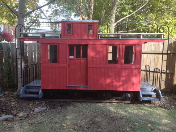 Caboose Playhouse built with quality to last for by Russellbilt, $6500.00