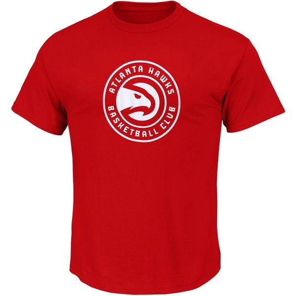 Atlanta Hawks Majestic Big & Tall Primary Logo T-Shirt - Red - $29.99
