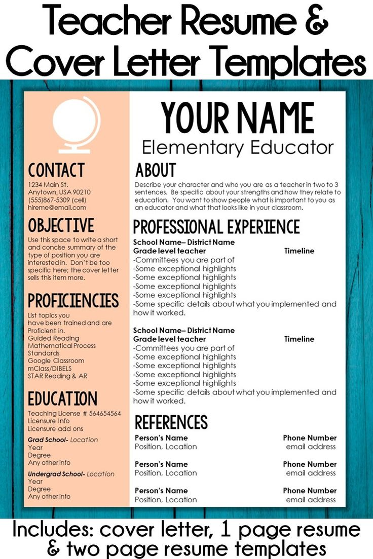 17 Best Cvs Images On Pinterest Cv Template Resume Templates And