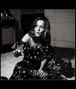 Helga Kneidel- Romy Schneider,Paris, Mai 1973