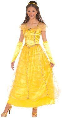 Golden Princess Costume - Princess Costumes