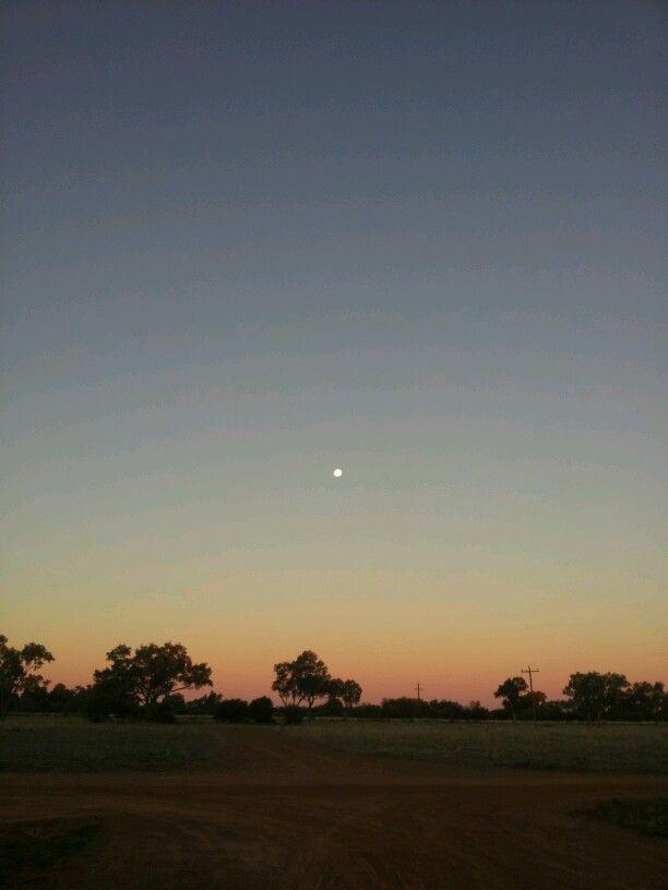 Sunset - Cunnamulla South Western Queensland Australia