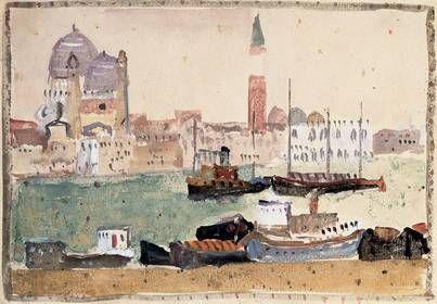 peinture italo-slovène, Zoran Music, Venise, 1980