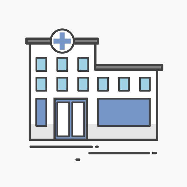 Download Illustration Of A Hospital For Free Medicine Illustration Cartoon Building Building Illustration