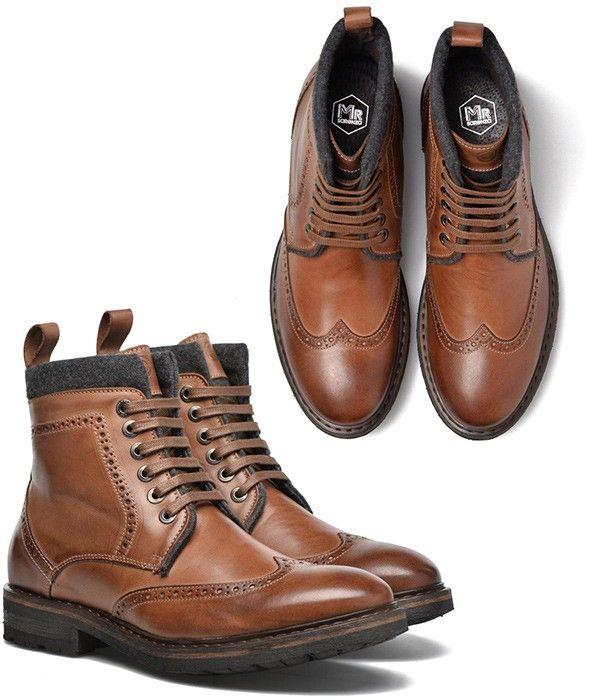 bottine fashion cuir chaussure boots homme cuir boots en OvmNwyn08P