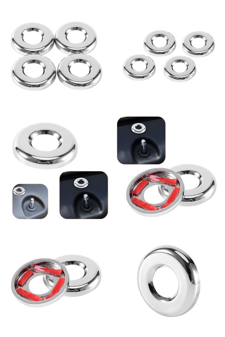 [Visit to Buy] 4PCS/Set Chrome Door Lock Trim Cover For Jeep Patriot For Dodge Journey Compass 2007-2015 100% Brand new Top Quality #Advertisement