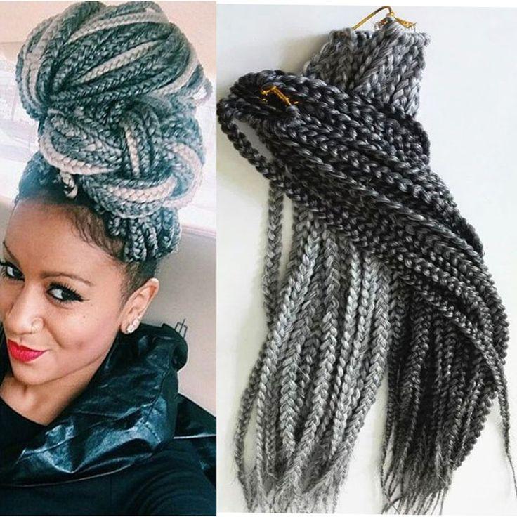 Crochet Box Braids With Kanekalon Hair : ... box braids hair on Pinterest Braid hair, Afro twist and Crochet box