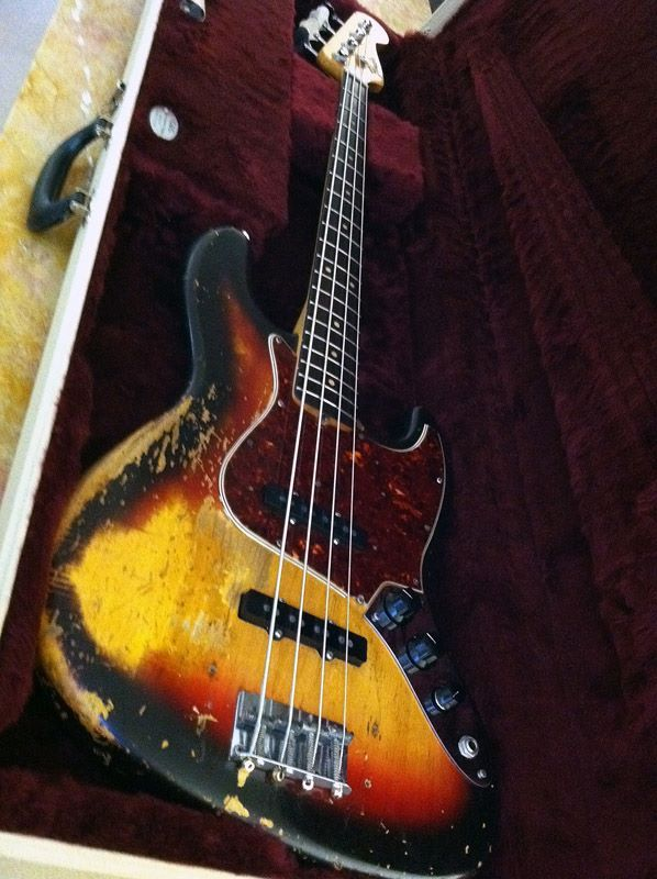 '64 Fender Jazz Bass - At some point I'd like to get a bass, might as well go all out and get the best, wooo lord