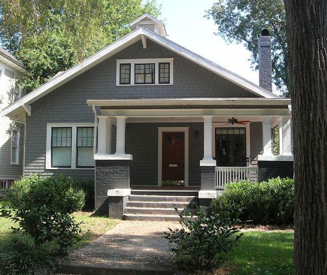 448 best cottages and bungalows images on pinterest for Interior colors for craftsman style homes