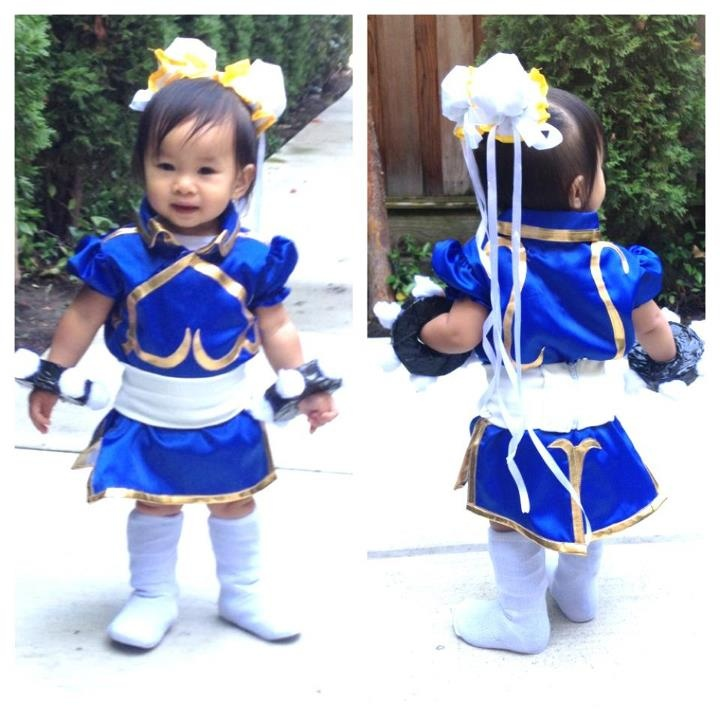 Year Old Baby Chun Her Halloween Costume