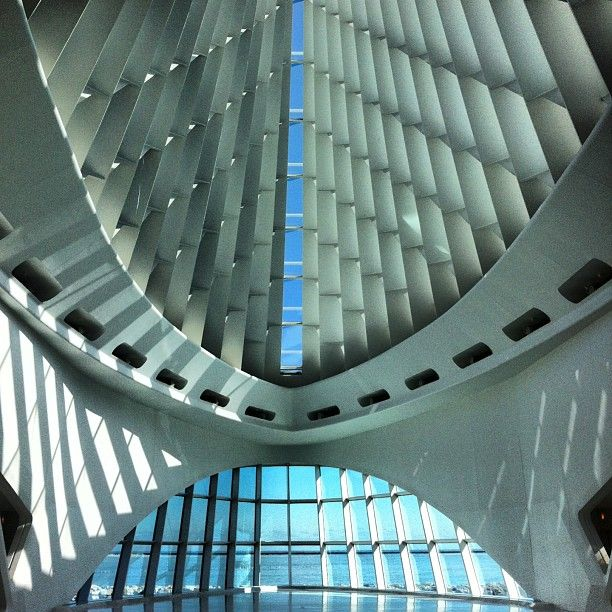 Milwaukee Art Museum by Calatrava.