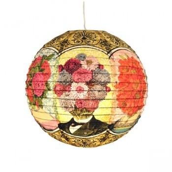 lanterne en papier boule japonaise flower head sur pepudesign caught my eye. Black Bedroom Furniture Sets. Home Design Ideas
