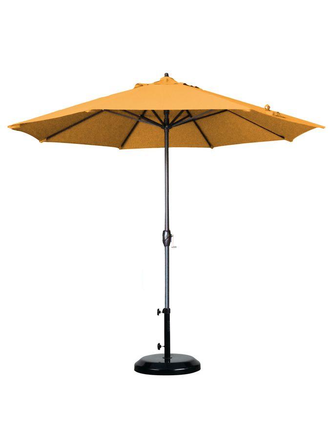 Auto-Tilt Market Umbrella from Midcentury-Inspired Outdoor Style on Gilt