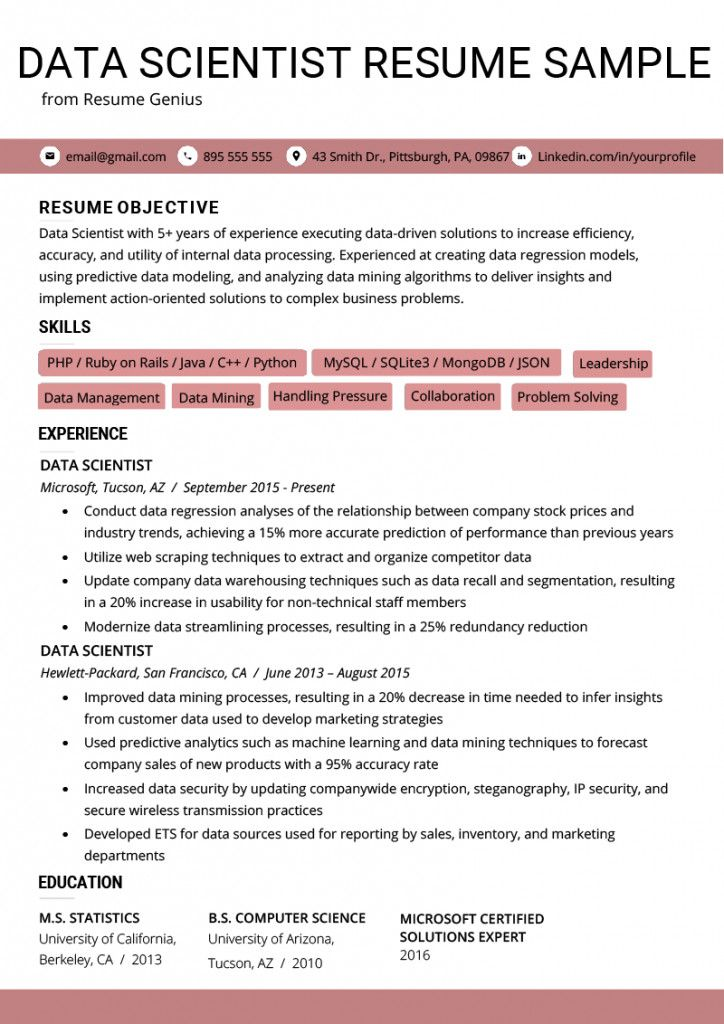Data Analyst Resume Summary Superb Data Analyst Resume Summary Templates Statement Entry Of 3 Data Scientist Resume Examples Resume Skills
