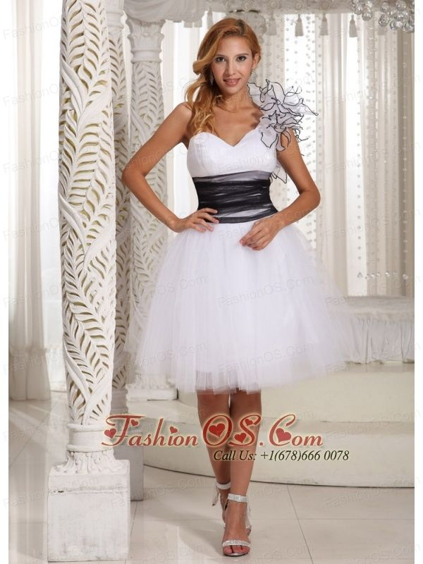 10 best Black And White Sweetheart Short Prom Dress 2013 images on ...
