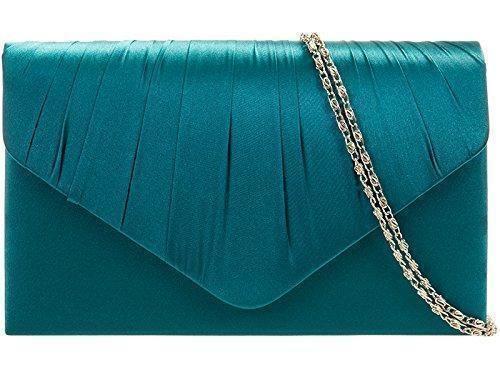 Oferta: 9.68€. Comprar Ofertas de SwankySwans - Cartera de mano para mujer Verde verde azulado barato. ¡Mira las ofertas!