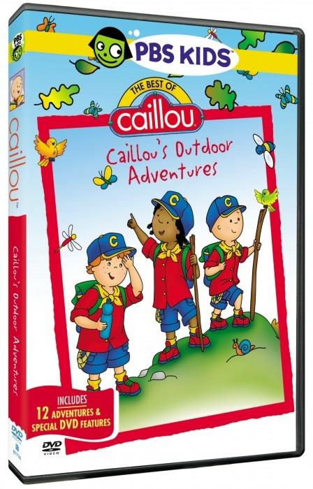 The Best of Caillou DVD. I can count on Caillou for two things. This will settle Kenleigh down at night from playtime and it will put us both to sleep.
