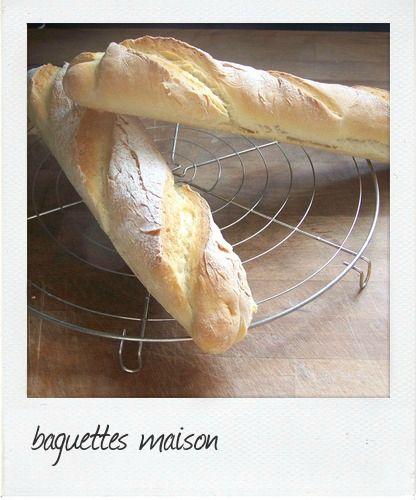 Baguettes de pain aux kitchenaid                                                                                                                                                                                 Plus