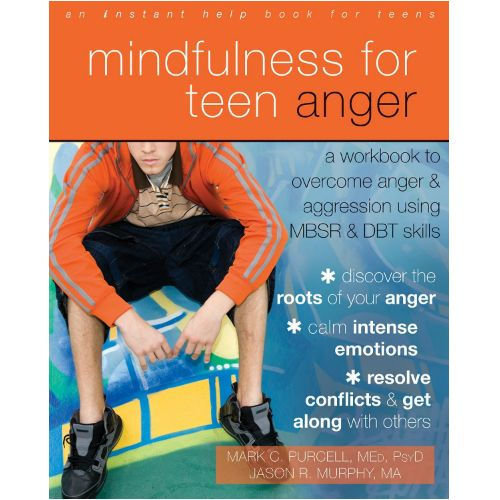 Using proven effective mindfulness-based stress reduction and dialectical behavioral therapy, Mindfulness for Teen Anger will teach you the difference between healthy and unhealthy forms of anger. Inside, you'll learn how to make better choices, how to stop overreacting, find emotional balance, and be more aware of your thoughts and feelings in the moment. You'll also learn skills for building positive relationships with peers, friends, and family.