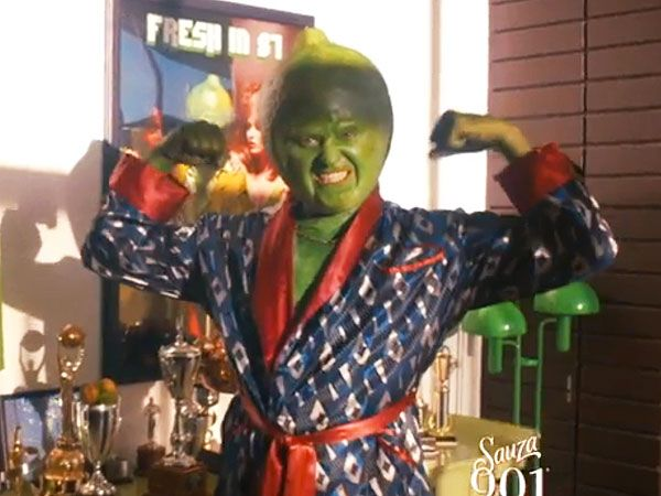 Drop Everything and Watch This Crazy Video of Justin Timberlake Dressed Up as a Lime http://greatideas.people.com/2015/05/04/justin-timberlake-lime-sauza-901-tequila-video/?xid=socialflow_facebook_peoplemag