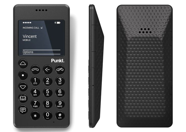 "Punkt launches Jasper Morrison-designed MP 01 as a ""liberating"" alternative to smartphones (via..."