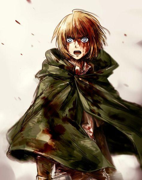 Armin Alert- Attack on Titan
