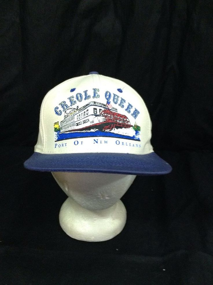 Creole Queen Port Of New Orleans Hat Adjustable Snapback Cap #BaseballCap