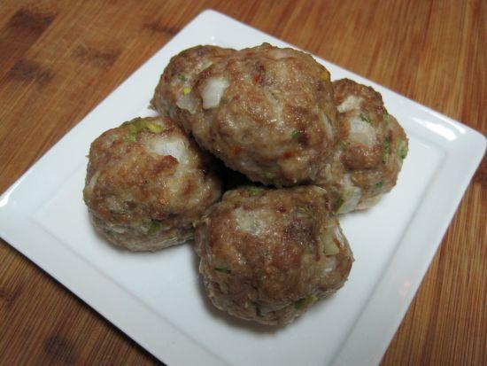 Onion Meatballs Dukan Diet Oat Bran Recipe.