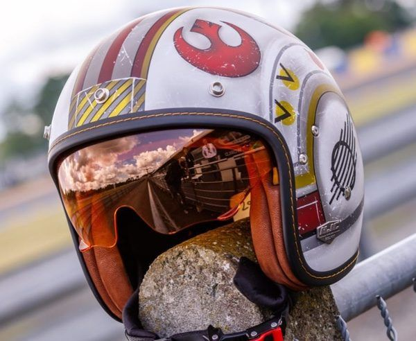 Officially Licensed 'Star Wars' Motorcycle Helmets Come In Three Flavors