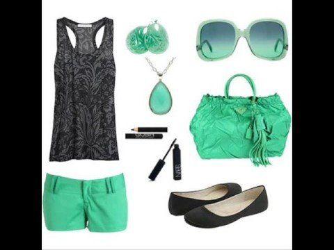 Gris y verde menta la combinación perfecta!