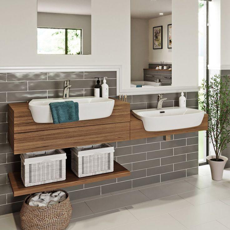 Mode Foster Semi Recessed Basin | VictoriaPlum.com