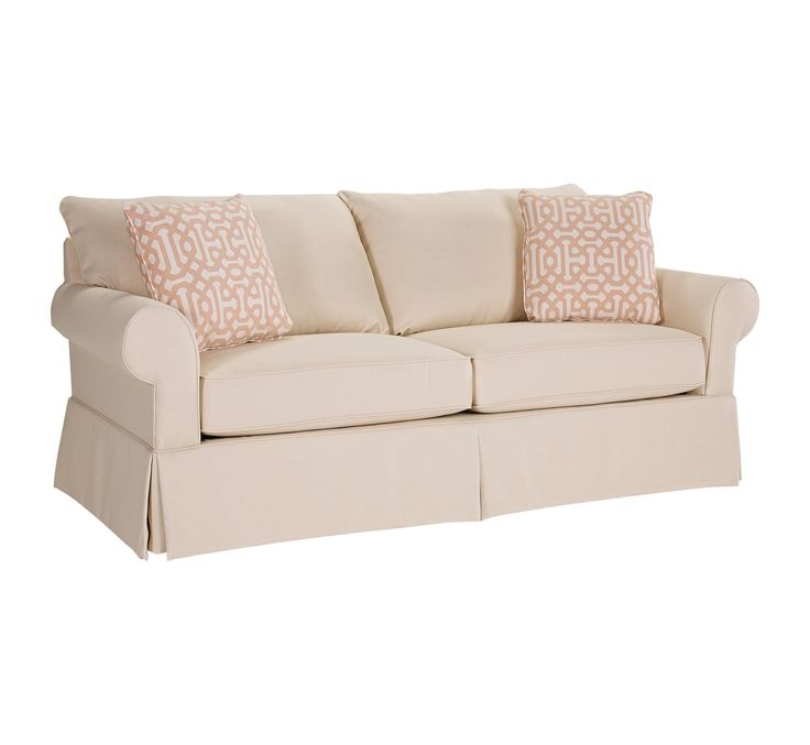 Uptown Traditional Stationary Sofa by Broyhill Furniture
