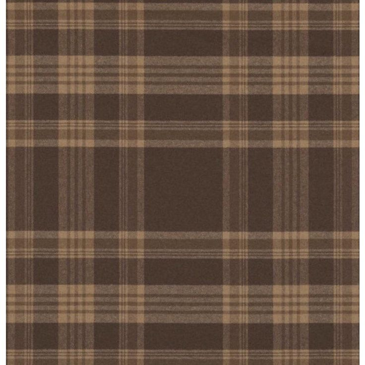 Ralph Lauren Deerpath Trail Plaid Cl Russet Fabric Ralph