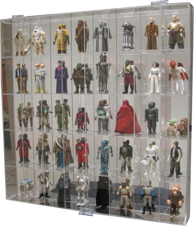 40 x Action Figure Display Case