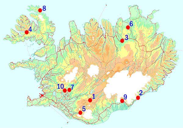 Beste Reisezeit & Klima auf ISLAND; ISLAND reisen, urlaub