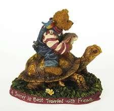 черепаха группа медведь заяц птица / Alan with Frannie Mae, Shirley, Lil' Fred and Francis..... Journey with Friends The Boyds Collection Ltd® ..... Bearstone Collection http://www.amazon.com/dp/B003TXNCJ6/ref=cm_sw_r_pi_dp_iudSwb0F45Z6Z