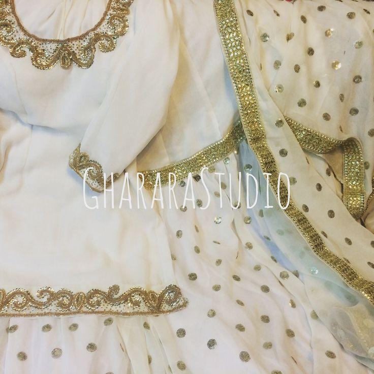 Crepe Gharara perfect for the summer functions.  Light and Soothing   #summer #summercollection #summerstyle #summer2016 #delhisummerstyle #delhi #gharara #ghararastudio #ghararastudiobyshazia #ghararadesign #sharara #ghararastyle #partydress #sangeet #wedding #marriage #nikah #fashion #fashiondiaries #fashionblog #fashionblogger #instafashion #instastyle #instapic #royal #orderonline #customisedgharara #ghararaoccasions #muslimbride