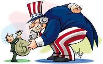 Renegociación de la Deuda externa, una de las primeras acciones del gobierno de Carlos Salinas de Gortari.