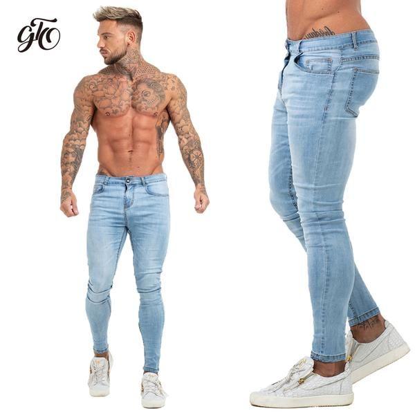 Calça Skinny Jeans Claro Masculina