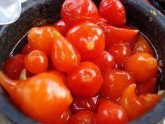 Como fazer conserva de pimenta biquinho