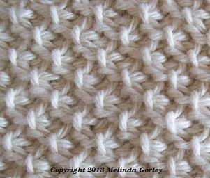 How To Alternate Between Knit Stitch And Purl Stitch : Tunisian moss stitch is made by alternate between Tss= tunisian simple stitch...
